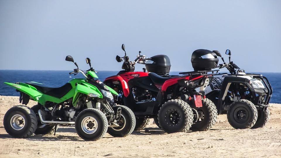 ¿Estás pensando en comprarte un quad?