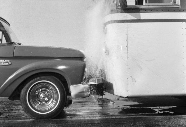 Parachoques de agua: ¿locura o gran idea?