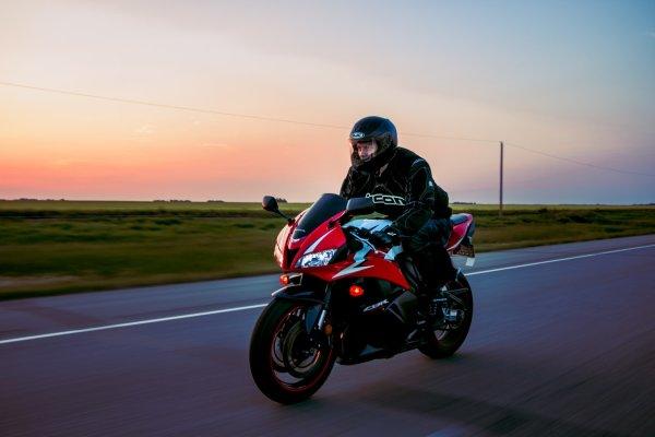 Equipamiento de protección para ir en moto
