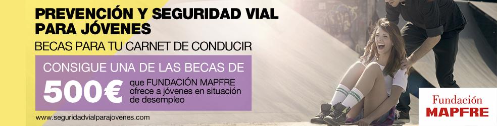 Becas de 500€ de la fundación Mapfre