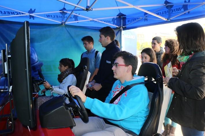 El Plan Joven de Seguridad Vial de Michelin aparca en Valencia