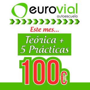 Teórica + 5 prácticas a 100€